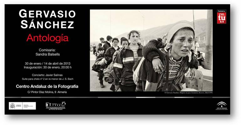 "Gervasio Sánchez ""Antología"""